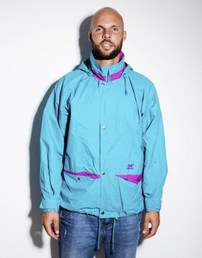 Blue HELLY HANSEN vintage mens jacket