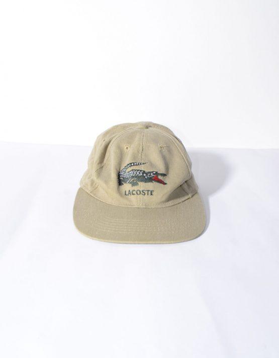 Vintage Lacoste brown cap