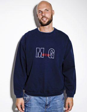 Vintage blue sweatshirt MUSTANG