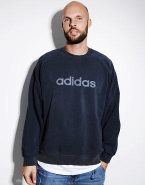 90s ADIDAS sweatshirt grey