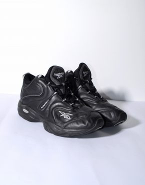 REEBOK DMX black trainers womens