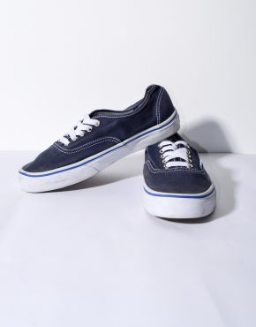 VANS blue low trainers