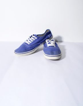 VANS blue low trainers womens