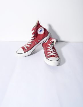 CONVERSE red classic shoes womens