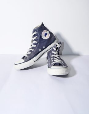 CONVERSE navy shoes womens