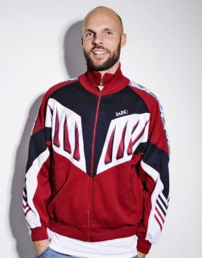 Vintage red sport jacket