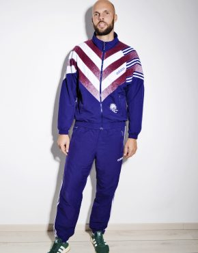 Adidas 90s vintage sport suit men