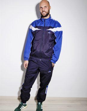 Adidas vintage blue tracksuit