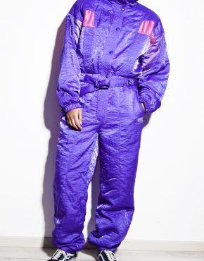 80s vintage ski suit
