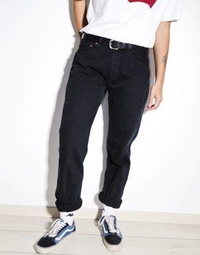 Levis vintage womens black jeans
