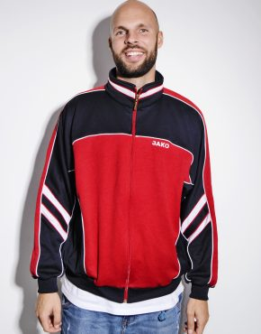 Vintage red tracksuit top jacket