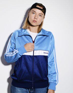 Adidas Originals 90s blue jacket