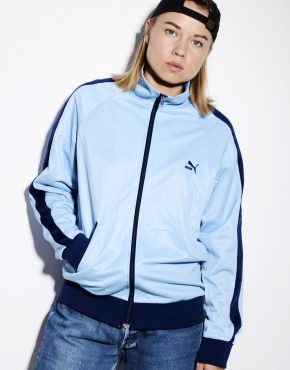 PUMA 90s track jacket blue