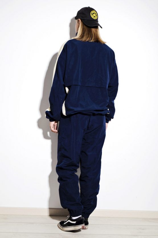 90s vintage blue shell suit