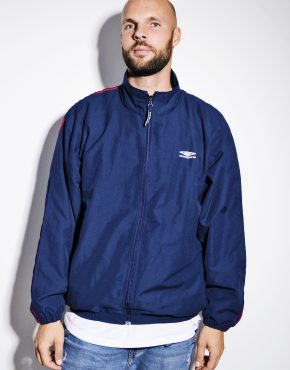 UMBRO vintage blue windbreaker jacket