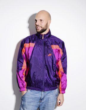 NIKE vintage purple jacket