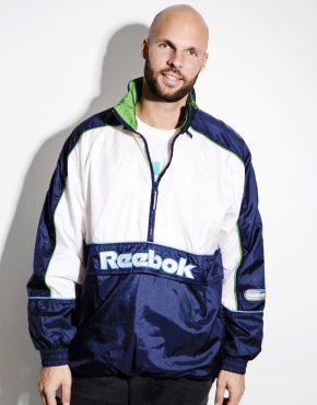 Reebok 90s windbreaker pullover