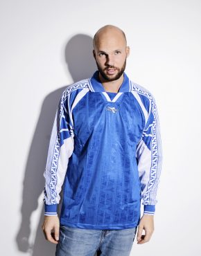 DIADORA football blue shirt for men