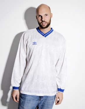 UMBRO football white shirt for men