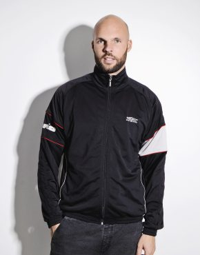 UMBRO black track jacket