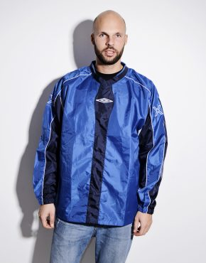 UMBRO coach blue shell shirt