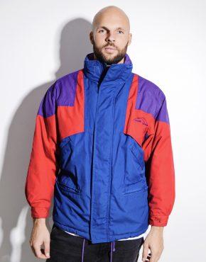 80s ski jacket anorak multi