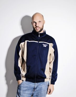 Reebok vintage track jacket blue