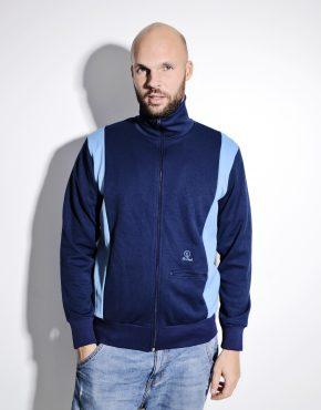 Vintage 70s sport jacket blue