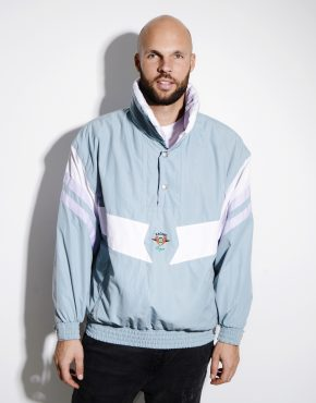 Retro 80s ski jacket