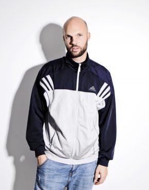 Adidas sport jacket for men | Grey Black