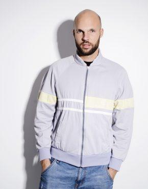 Sergio Tacchini grey track jacket