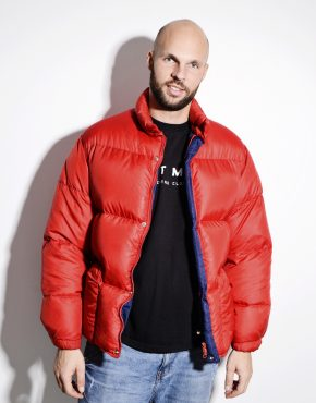 Red very warm puffer jacket