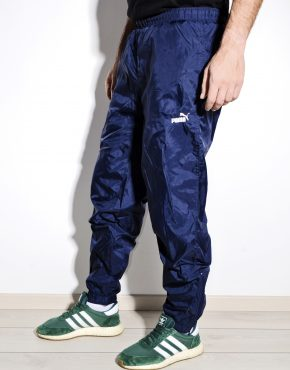 PUMA vintage blue shell pants nylon