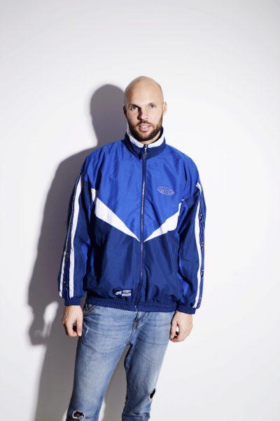 Vintage lightweight jacket blue