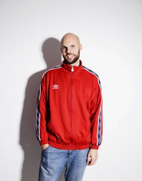 UMBRO vintage red tracksuit top jacket
