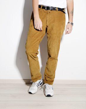 Velvet brown vintage trousers