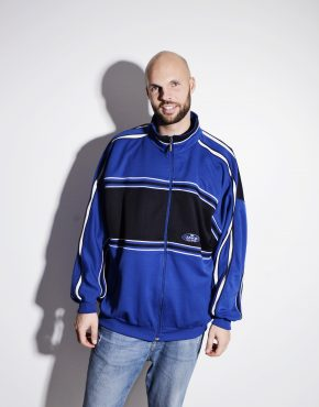 Old School blue track jacket by JAKO