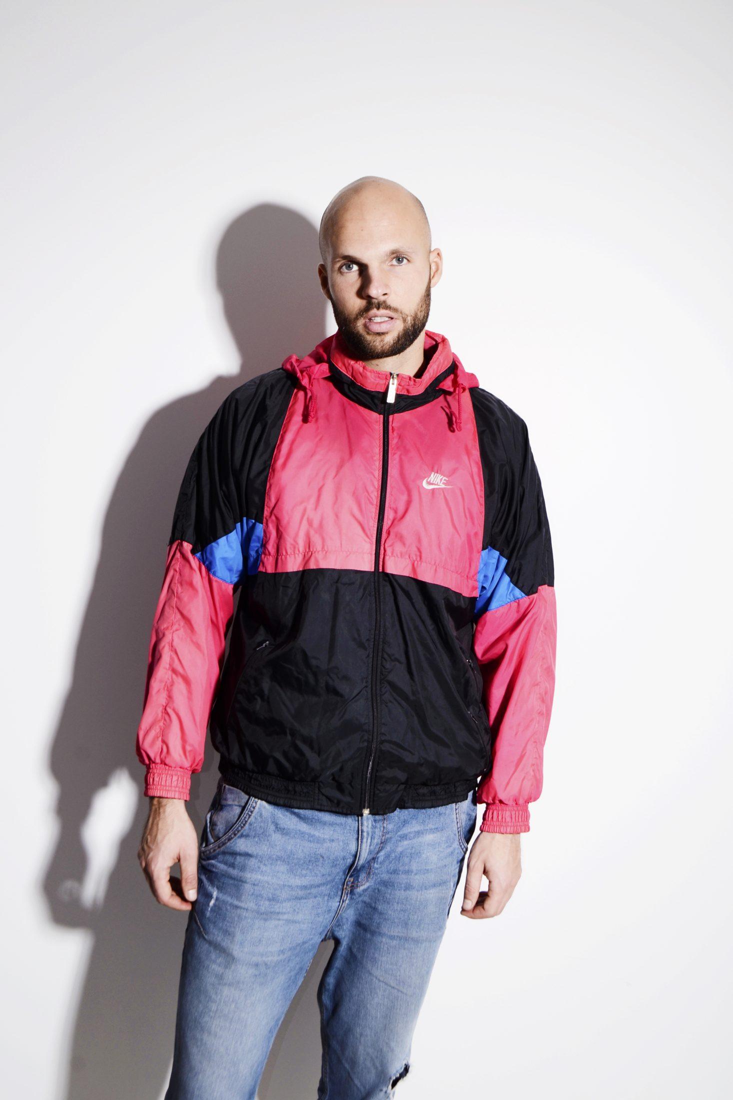 d56ea36bf NIKE vintage pink shell jacket