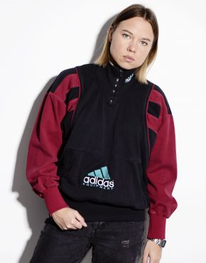 ADIDAS Equipment warm pullover with front logo