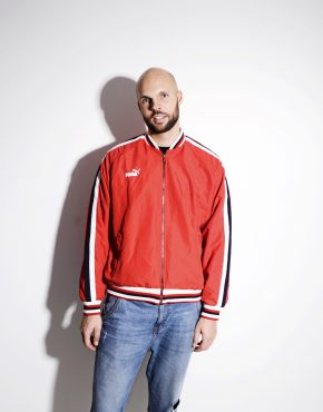 PUMA 90s jacket red colour windbreaker