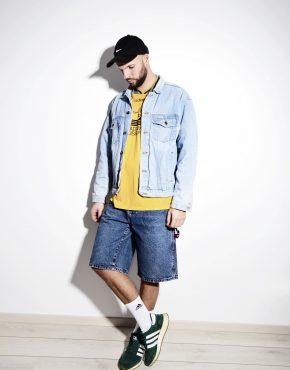 90's denim jacket for men