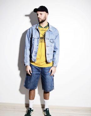 80's denim jacket mens