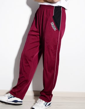 KAPPA vintage cherry red track pants for women
