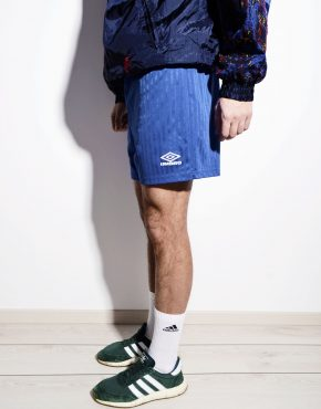 Vintage blue shorts for men Umbro