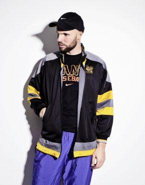 NIKE swoosh vintage multi jacket