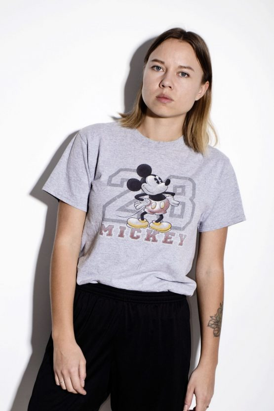 DISNEY vintage t-shirt in gray color