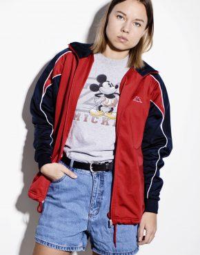 KAPPA vintage red tracksuit top sport jacket unisex