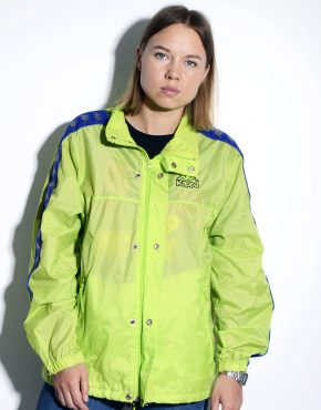KAPPA vintage green shell jacket