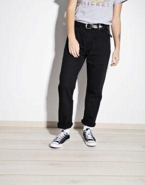 Vintage 80s women's or men's black jeans