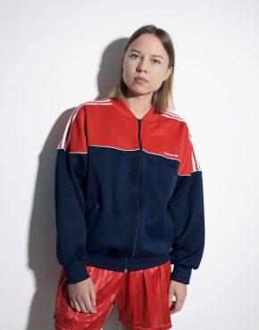 Adidas Originals 90s bomber jacket unisex blue red colour